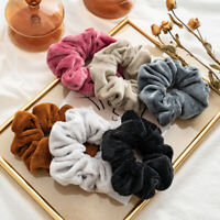 Women Elastic Hair Bands Soft Hair Accessories Stretchy Scrunchies Ponytail Ties