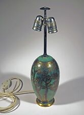Rare Art Deco WMF Ikora Metall Messing Design Tischlampe table lamp 20iger