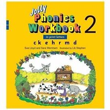 Jolly Phonics Workbook 2 (in Print Letters) (jolly Phonics Workbooks): By Sue...