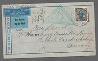 1931 Iceland Graf Zeppelin Cover to GErmany LZ 127  # C11