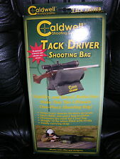 Caldwell Tack Driver Unfilled Shooting Rest Bag W/Shoulder Strap 191-743  NEW