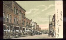 1906 German Made UDB View Front St Bath ME Storefronts A6422