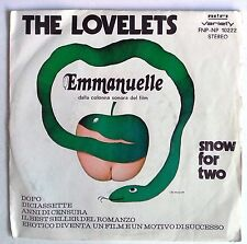 "10946 45 giri - 7"" - The Lovelets - Emmanuelle - snow for two"