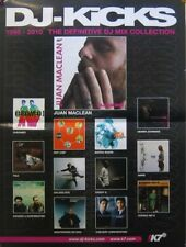 DJ KICKS POSTER, DISCOGRAPHY  (C10)