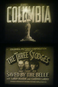 """16MM-THE THREE STOOGES IN """"SAVED BY THE BELL""""-1939-DIRECTED BY CHARLEY CHASE"""
