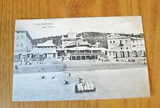 CARTOLINA SAVONA FINALMARINA BAGNI ONDINA RARA VIAGGIATA 1907 SUBALPINA QQ