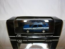 ARS MODEL ALFA ROMEO ALFA 155 - POLIZIA - BLUE 1:43 - GOOD IN BOX