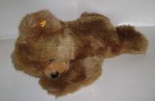 """STEIFF 0341/40 SUPER MOLLY LAYING TEDDY BEAR CUB PLUSH 18"""" STUFFED GERMANY RARE"""