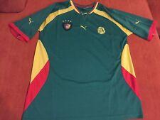 CAMERUN CAMEROON MAGLIETTA HOME CASA 2000 OLIMPIADI 3XL SHIRT ORIGINALE NUOVA !!