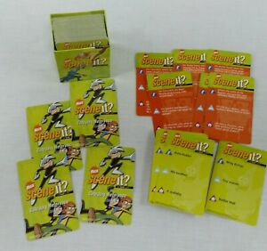 Nick Scene It Game Replacement Pieces Trivia Cards Deck Question Answer Parts