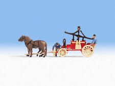 NOCH 16712 échelle H0,Figurines Feuerwehrwagen (Voiture des Sapeurs-Pompiers) #