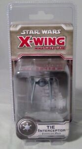STAR WARS X-WING MINIATURES TIE INTERCEPTOR BRAND NEW CLEARANCE