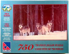 NEW SURE-LOX Jigsaw Puzzle 750 Pieces TRUE NORTH Timber Wolves CANADA 40505-16