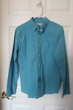 Mens - HOLLISTER Button-Down PocketShirt TURQUOISE - S