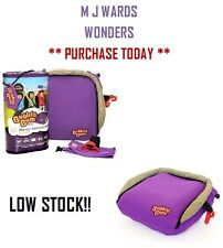 Bubble Bum - The Car Booster Seat In A Bag Inflatable Foldable Portable Holiday