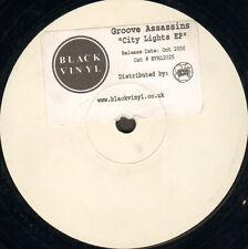 GROOVE ASSASSINS - City Lights EP - Black Vinyl