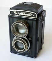 VOIGTLANDER BRILLANT with Voigtlander Skopar 75MM/3.5 Lens for Parts or Repair