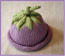 CA004 Knitting Pattern Pixie Baby Berry Hat in Aran Yarn
