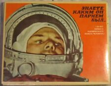 28 RUSSIAN Match Box Cosmic Space Man Rocket Sputnik Ship Gagarin Flight