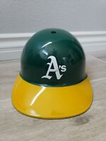 Vintage A'S MLB Baseball Hard Hat Batting Helmet Souvenir Collectible 1969