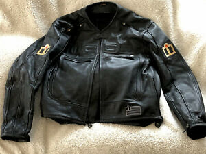 Icon Motorhead Asphalt Technologies Motorcycle Jacket Size L GREAT CONDITION