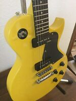 Vintage LP Junior Electric Guitar V132TVY [2 PU JUNIOR]