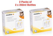 Medela Breast Milk Bottles 2 x 250ml - 2 Packs
