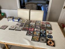 SONY PLAYSTATION GAMES JOB LOT PS1 / PS3 / PS4 / PSP UNTESTED AS ACQUIRED