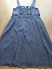 Boden women silk summer party dress size 16