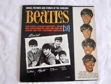 """THE BEATLES """"Songs, Pictures, And Stories"""" Flip Top Cover VJ 1092 VJLP 1062 1964"""