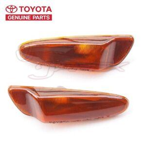 TOYOTA OEM Side Marker Indicator Lenses for SUPRA JZA80 81741-14170/81731-14180