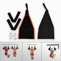 Fitness Hanging Belt Sling Home Abdominal Muscle Training AB Straps Pull Up Bar