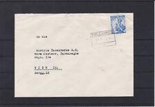 Bahnhofkastenstempel Zell am See auf Brief gelaufen 21.II.53