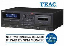 Teac AD-850 Platina de cassette reproductor de CD con USB MP3 sistema de karaoke de grabación