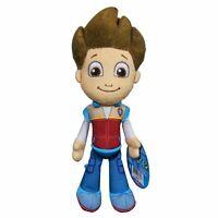 "1x Paw Patrol Pup Pals 8"" Boy Ryder Soft Plush Kid Toy Birthday Gift"