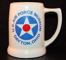U.S. AIR FORCE MUSEUM Dayton Ohio Coffee Mug Beer Stein USA American Military US