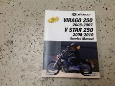2006 2007 VIRAGO 250 2008 2010 V STAR 250 Service Shop Repair Manual OEM Factory