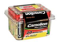 20 x Camelion AA Batterie LR6 1,5V Plus Alkaline High Energy in Box lose