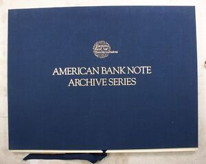 American Banknote Company Archive Series 1989 Limited edition Vol 3