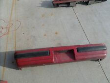85 90 Pontiac Firebird Formula Rear Bumper Cover GM OEM & Impact Bar