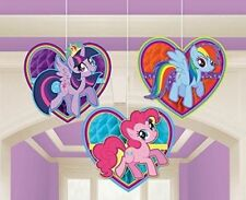 My Little Pony Honeycomb Hanging Decorations - 3 Pack -NEW!!