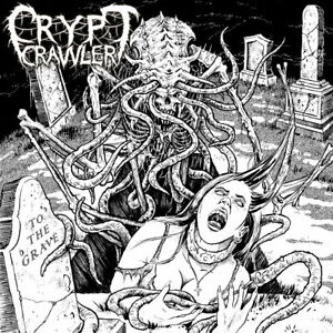 Crypt Crawler To The Grave CD 2019 Australian Indi Death Metal New