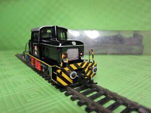 Modelleisenbahn HO Fleischmann Dieselrangierlok Sonderfarbe.