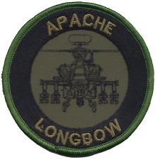 USAF Boeing AH-64 Apache Longbow Attenué Patch Brodé