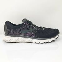 Brooks Womens Glycerin 17 1202831B097 Black Running Shoes Lace Up Size 9.5 B