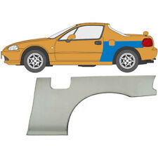 Honda Civic Crx Del Sol 1992-1998 Radlauf Reparaturblech Kotflügel / Links