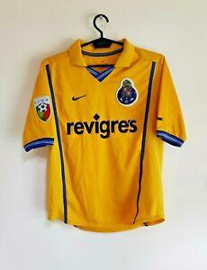 FC Porto 2000/01 away football shirt camiseta maglia maillot - Nike Size LB