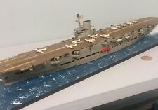 1:700 Scale Built Plastic Model HMS Ark Royal British WWII Aircraft Carrier