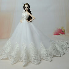 Fashion Party Princess Dress Wedding Clothes/Gown For Barbie Doll S365