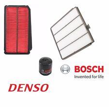 Fits Honda Odyssey 2002-2004 Cabin Air Oil Filters Set Denso / Bosch